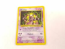 Pokemon TCG Card Black Star Promo Mewtwo #14 Played With