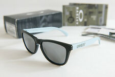 Oakley Frogskins GP 75 Collection Matte Black/Black Sunglasses w/box