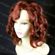 Wiwigs Lovely Copper Red Short Curly Summer Style Ladies Wig