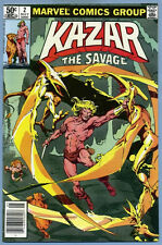 Ka-Zar The Savage #2 1981 Marvel Comics