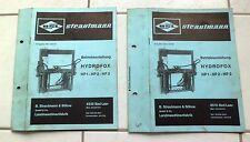 Strautmann Siloentnahmegerät  Hydrofox  HP 1 - HP 2  - HP 3 Betriebsanleitung