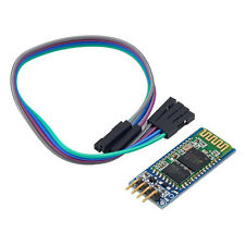 Serial 4 Pin Bluetooth RF Transceiver Module HC-06 RS232 With Backplane + Cable