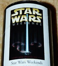 RARE Official Disney Star Wars Weekends 2000 Event Logo Poster
