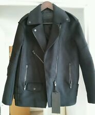 Alexander Wang for HM Biker jacket coat UK size 10