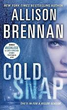 Allison Brennan Cold Snap Book Very Good Condition