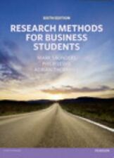 Research Methods for Business Students by Mark N. K. Saunders, Philip Lewis and…
