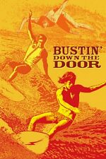Bustin Down The Door Surf Movie POSTER Signed By Artist John Van Hamersveld