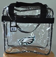 Philadelphia Eagles CLEAR Messenger Tote Bag Purse - Meets Stadium Security Reqs