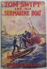 TOM SWIFT #4 AND HIS SUBMARINE BOAT VICTOR APPLETON 1930 G&D DJ