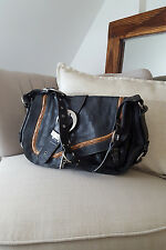 *CHRISTIAN DIOR* GAUCHO LARGE SADDLE BAG
