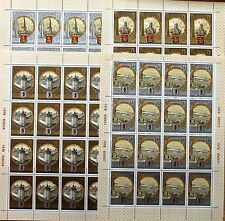 RUSSIA SOWJETUNION 1978 Klb 4810-13 B117-0 Olympics Moscow 1980 golden Ring City