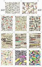 Newspaper Nail Art Decal Water Slide Transfer Temporary Tattoos Sticker 11in1 W3