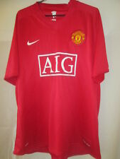"Manchester United 2007-2009 Home Football Shirt Size Extra Large 45""-47"" /21862"