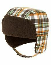 NWT GYMBOREE RACCOON BUDDIES PLAID TRAPPER WINTER HAT 3-6 mo  Free US Shipping