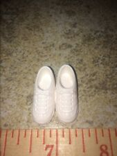 Barbie or Skipper Vintage White Flat Foot Tennis Shoes Sneakers Gym Athletic