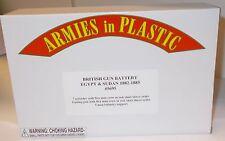 Armies in Plastic 5695 - British Gun Battery - Egypt & Sudan 1882-1885      1/32