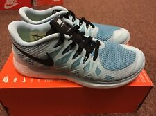 BNIB Women's Nike Free 5.0 UK 5 Turquoise Blue White Black New Running Gym Run