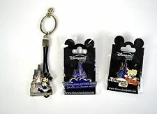 Disney Pins Disneyland Resort Paris 15 Magical Years Mickey Mouse Castle Lot 3
