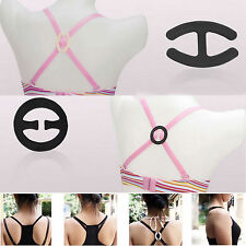9 PCS Clips Perfect Adjust Bra Clasp Strap Cleavage Control New&Useful Buckle