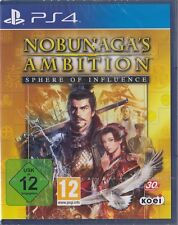 Nobunaga's Ambition: Sphere of Influence - PS4 - Neu & OVP - Deutsche Version!