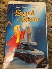 The Sword in the Stone (VHS) WALT DISNEY BLACK DIAMOND CLASSICS VIDEO FAMILY #2