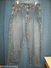 U. S. Polo Assn Jeans Size 38 by 30 100% Cotton Pre owned EUC
