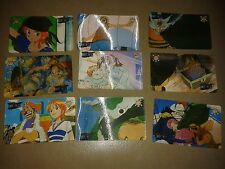 LOTTO 9 CARTE ONE PIECE FROM TV ANIMATION EDIBAS INTROVABILI  OTTIME CONDIZIONI