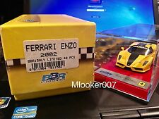1/43 BBR FERRARI ENZO 2002 BBR150LY #13/40 Yellow - MINT RARE n MR LOOKSMART