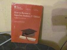 Great Courses How to Become a Superstar Student 2nd edition NEW SEALED