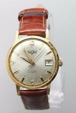 Vintage Original Men's Vulcain Hand Wind Wrist Watch Running
