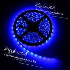 5M 5630 SMD Blue Super Bright 300 LED Flexible Strip Light Decor No Wateproof
