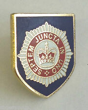 The Queen's Royal Household Division British Army - MOD Approved Pin Badge