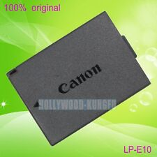Genuine original Canon LP-E10 LPE10 Battery for Canon EOS 1100D Camera LC-E10E