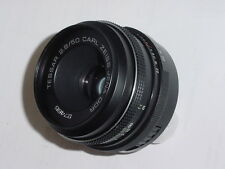 CARL ZEISS JENA DDR 50mm F2.8 TESSAR M42 Screw Mount Manual Focus Lens