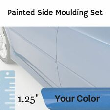 "Painted 1.25"" Body Side Moulding Set for Hyundai Elantra Sedan (Factory Finish)"