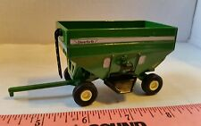 1/64 ERTL CUSTOM FARM TOY GREEN UNVERFERTH GRAVITY GRAIN WAGON BRENT PARKER NICE