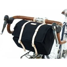 NEW Minnehaha Canvas & Leather Medium Saddle Bag for Bikes TRADITIONAL