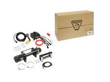 New Bulldog DC Electric Heavy Duty Winch DC9000, Rated Line Pull 9000 lbs.