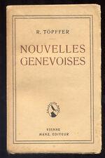 R. TÖPFFER, NOUVELLES GENEVOISES