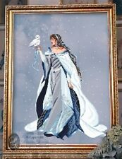 "SALE! COMPLETE X STITCH KIT ""MY LADY OF THE SNOW RL24"" by Passione Ricamo"