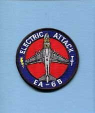 GRUMMAN EA-6B PROWLER ELECTRIC ATTACK VAQ- US NAVY USMC Squadron Jacket Patch