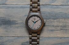 *Blemished Wood Watch, black watch, Wooden watch,mens watch, handmade wristwatch