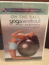 On the Ball With Sara Ivanhoe: Yoga Workout for Beginners/NEW