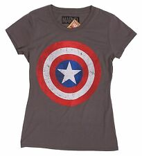 Marvel Comics Original Olive Retro Captain America Tee Size M T-Shirt