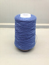 200G 100% PETTINATO DI LANA LANA 2/28NM FILO MEDIO BLU DENIM T3128