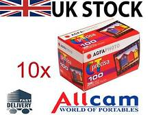 10 Pack: Agfa Precisa CT100 135-36 colour slide film (ISO100, 35mm, Slide)