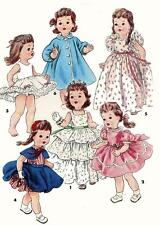 Vintage Doll Clothes PATTERN 4908 for 14 in Bonny Braids n Saucy Walker by Ideal