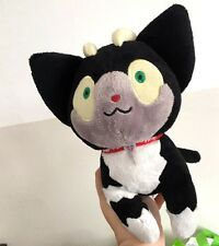 Blue Exorcist Ao no Exorcist Kuro Neko Rin Plush Black Cat Doll Toy Cosplay 22cm