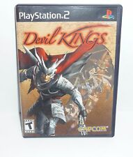 Sony Playstation 2 PS2 Devil Kings Game Complete Tested Black Label Adventure