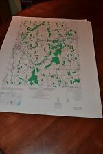 1940's Army topographic map Lyons  New York -Sheet 5670 III SW